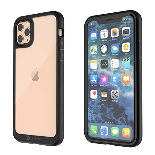New Trent iPhone 11 Pro Max (2019) 6.5 Inch Case with Full-Body Transparent Protection and Built-in Screen Protector