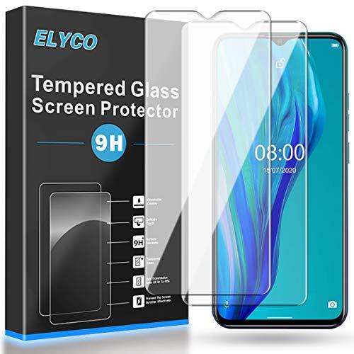 ELYCO Protector de Pantalla para Ulefone Note 9P, [2 Piezas] [Alta Definicion]...