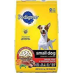 Pedigree Small Dog Complete Nutrition Grilled Steak and Vegetable Flavor