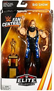WWE Elite Fan Central Exclusive Big Show Action Figure with Andre the Giant Battle Royal Trophy