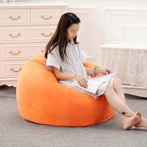 Chaises longues-Chaises longues-- Beanie mignon enfants créatif amovible et lavable paresseux canapé soft tabouret unique chambre flottante fenêtre chaises paresseux canapé (couleur facultatif) --Applicable à l'intérieur et à l'extérieur ( Couleur : #1 , taille : 90*80cm )