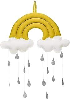 xiegons3 Pendentif jouet mignon accessoires décoration photo chambre tente nuage gouttes de pluie cadeaux tissu mobile sus...