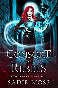 Consort of Rebels: A Reverse Harem Paranormal Romance (Magic Awakened Book 3) by [Sadie Moss]
