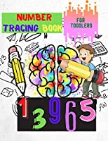 Number Tracing book for Toodlers