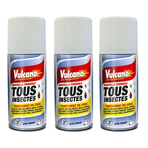 Nuisipro - Spray Anti Pulci–cimici da letto, confezione da 3