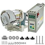 Mophorn 110V 600W Sewing Machine Servo Motor Max Speed 4500RPM Energy Saving Mute Tie Bar Brushless Servo Motor for Industrial Sewing Machine