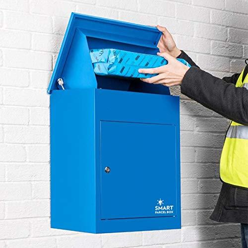 Paketbriefkasten Smart Parcel Box, blau