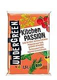 Undergreen Kitchen Passion, Erde für alle Obst- und Gemüsepflanzen sowie Kräuter, Bio,...