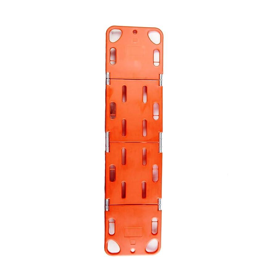 グラフィック小包ゴールド4つの折る救助の伸張器、ヘッドベッドが付いている背板背骨板伸張器の固定