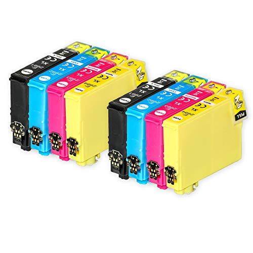 Go Inks Compatible Cartuchos de Tinta para reemplazar Epson 29 & 29XL Serie Non-OEM *Nueva Versi�n* (8 Tintas)