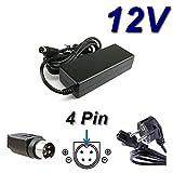 Adaptador de alimentación, cargador de 12 V para televisor Basic Line TFT BL1506-250