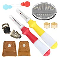 実用的な便利な縫製指ぬきセット細かい手作りのDIY縫製ツール手縫い刺繡刺繍アクセサリーによるDiy