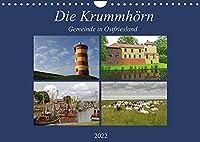 Die Krummhoern Gemeinde in Ostfriesland (Wandkalender 2022 DIN A4 quer): Der Fotograf Rolf Poetsch zeigt hier einen Teil der schoensten und sehenswertesten Orte der Krummhoern in Ostfriesland (Monatskalender, 14 Seiten )