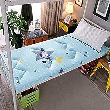 Futon mattressThick Mattress Topper, Traditional Japanese Futon Premium Mattress Tatami mat Sleeping for Student Dormitory...
