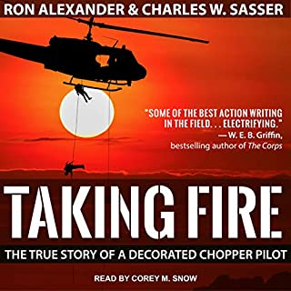 Taking Fire audiobook cover art