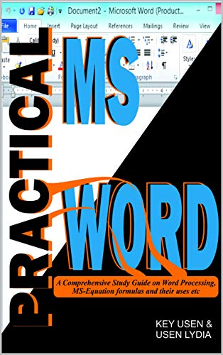Practical MS Word (English Edition)