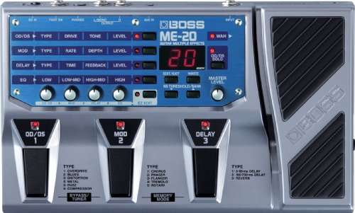 Boss ME-20 Guitar Multi Effects Pedal