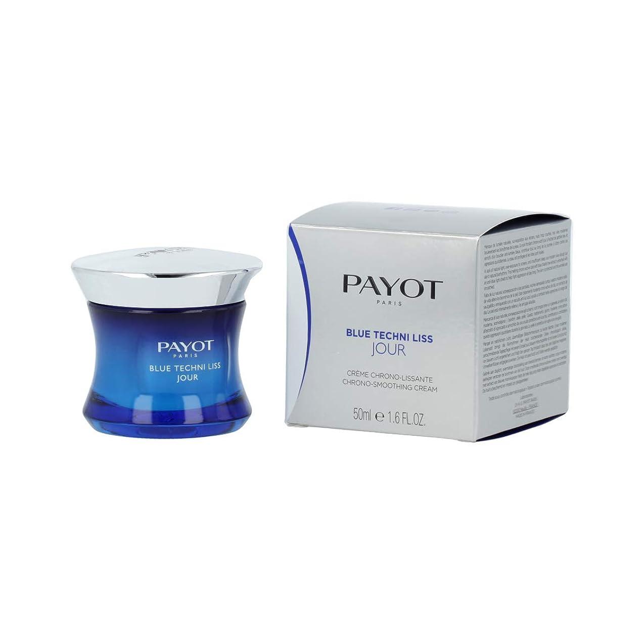 鯨達成する簡略化するパイヨ Blue Techni Liss Jour Chrono-Smoothing Cream 50ml/1.6oz並行輸入品