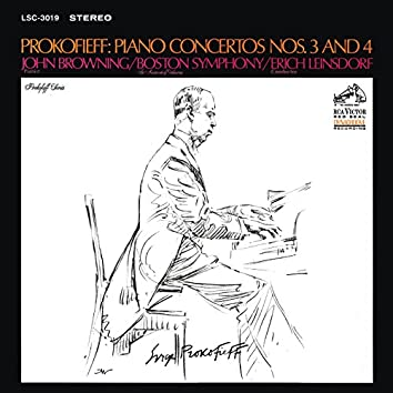 Prokofiev: Piano Concerto No. 3 in C Major, Op.26 & Piano Concerto No. 4 in B-Flat Major, Op. 53