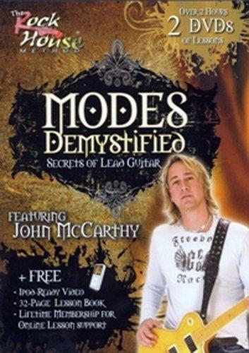 John McCarthy 2021 new Modes Award-winning store Demystified Secrest Guitar Lead of