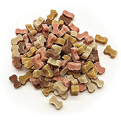 500g Micro Mix Treats for Dogs - Ideal for Snack time Or Reward for your Dogs - KEEPS THEM SATISFIED AND ENGAGED - Made with Real Meet