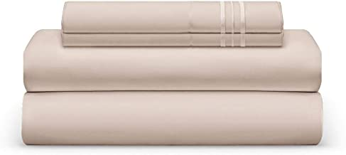 THE BEDSHEET CLUB Sheet Set - Luxury Deep Pocket Sheets - Super Soft Hotel Bedding - Wrinkle, Fade, Stain Resistant - Hypoallergenic (King, Cream)