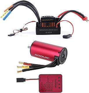 4068 Brushless Sensorless Motor 2650KV Card 150A ESC HobbyStar 1/8 Combo