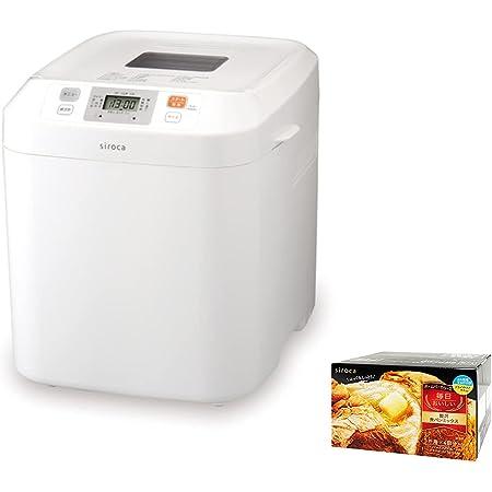 【シロカ公式ストア限定】シロカ 全自動ホームベーカリー SB-111[累計台数120万台突破/タイマー/最大2斤/ ジャム/バター/蕎麦/うどん/餅つき機] + 贅沢食パンミックス (1斤×4袋) SHB-MIX3100付き特別セット