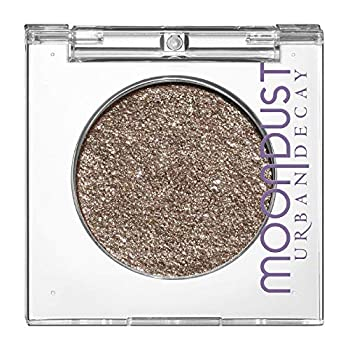 Urban Decay 24/7 Moondust Eyeshadow Compact Lithium - Metallic Brown with Iridescent Silver Sparkle - Maximum Glitter & Velvety Shimmer
