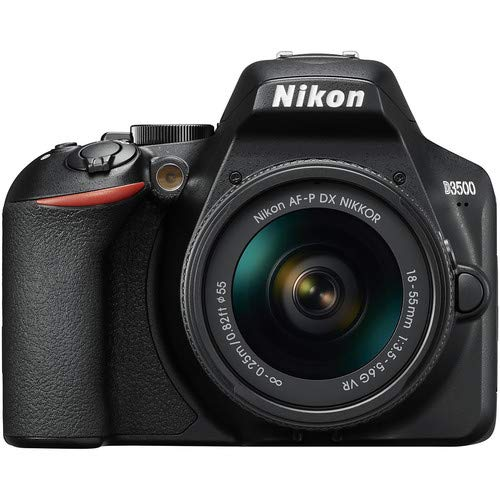 Nikon D3500 DSLR Camera with 18-55mm VR Lens + 32GB Card, Tripod, Case, and More...