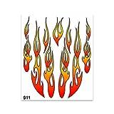 Adhésif Flammes 20 x 24 cm