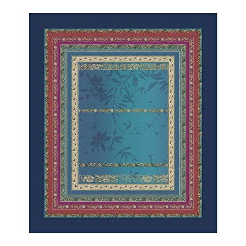 Bassetti Tischdecke Malve B1 blau 150x250 cm