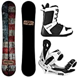 Camp Seven Drifter and Summit Men's Complete Snowboard Package New (153 cm, Boot Size 10)