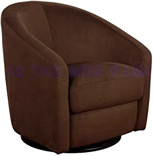Best brown round swivel chair Reviews
