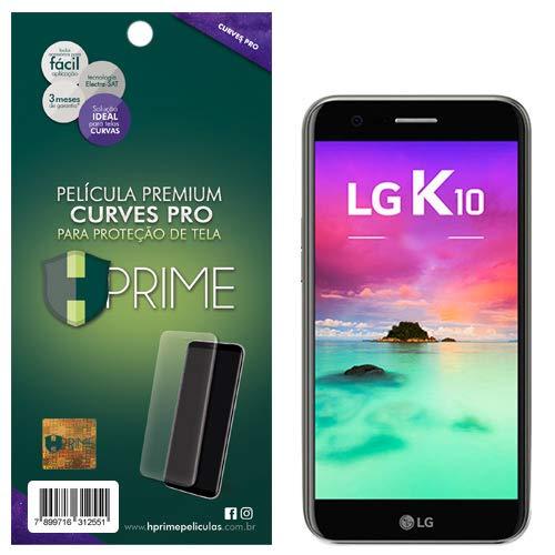 Pelicula HPrime Curves Pro para LG K10 2017, Hprime, Película Protetora de Tela para Celular, Transparente