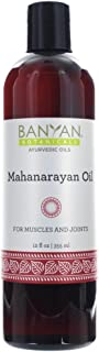 Banyan Botanicals Mahanarayan Oil - 99% Organic, 12 oz - For Muscles & Joints with Pain, Stiffness, or Inflammation*
