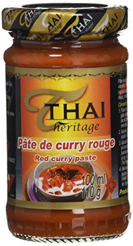 THAI HERITAGE Pate de Curry Rouge 110 g