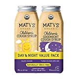 Maty's USDA Organic Children's Cough Syrup Day & Night Value...