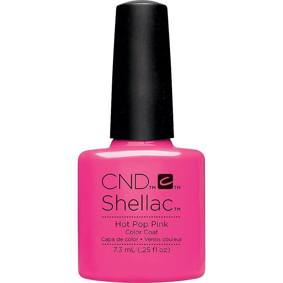 北西フリンジ静脈CND(シーエヌディー) シェラック UVカラーコート 519 Hot Pop Pink(マット) 7.3ml