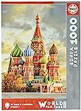 Educa- Catedral de San Basilio, Moscú Puzzle, 1000 Piezas, Multicolor (17998)