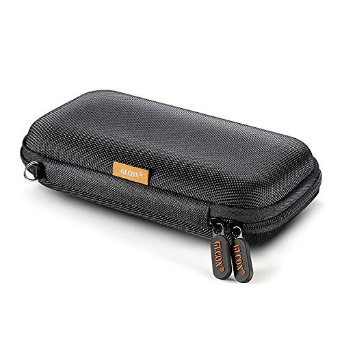 Hard Drive Organizer, Portable Carrying Case Built-in Buffer Layer, Travel Case with Mesh Pockets, Protective Phone Cases, Zipper Enclosure Bag for Hard Drive Passport USB Charger Card Power Bank