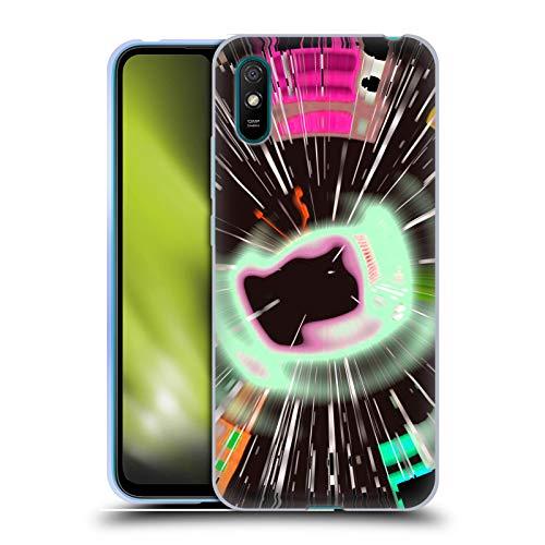 Head Case Designs Licenciado Oficialmente Haroulita Disco Glitch Resumen Glitch 5 Carcasa de Gel de Silicona Compatible con Xiaomi Redmi 9A / Redmi 9AT