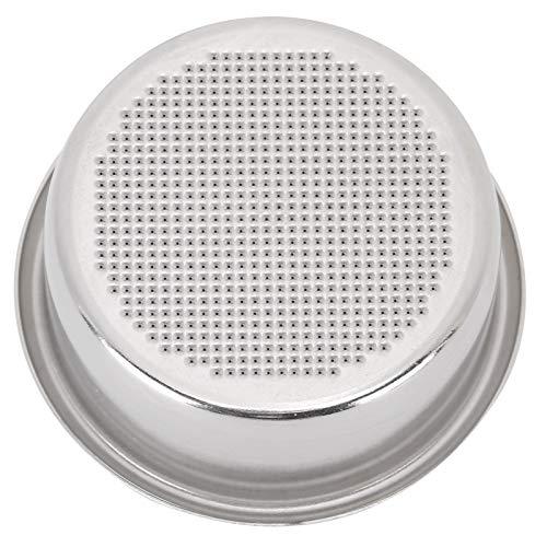 Filtro de taza de 53 mm de repuesto para cafetera Breville, filtro de café de acero inoxidable, cesta de filtro no presurizada