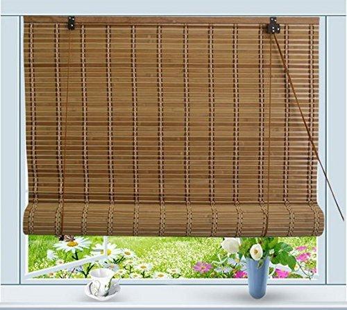 Bamboo Roll Up Window Blind Sun Shade W36' x H72'