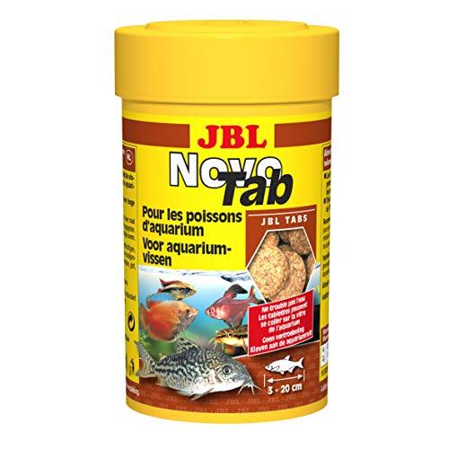 Pack of 3 JBL Novo Tab Aquarium Food Tablets (Each Pack Contains 160 Tablets, 100 ml)