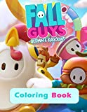 Fall Guys Ultimate Knockout - Coloring Book: For children & Gamers , High Quality Coloring Pages For kids