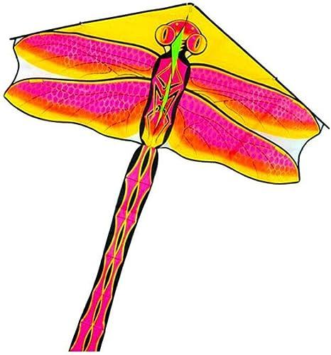 ZHWeißrachen Drachen Libellendrachen Leitungsl e 380 650   720m Einfach Zu Fliegen (Farbe   Rosa, Größe   Line Length 720m)
