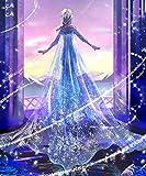 Diamond Painting Kit Completo DIY 5D Kits de Pintura de Diamantes Pintura Cristal Rhinestone Bordado Decoración Artes, Bordado de Diamantes-Reina de la magia