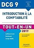 DCG 9 - Introduction à la comptabilité 2019 - Tout-en-Un