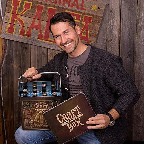 Kalea Beer Box | Metallbox mit 3D-Prägung | Bierspezialitäten | Perfekte Geschenkidee für Männer, Väter und alle Bierliebhaber (Craft Bier Box) - 4